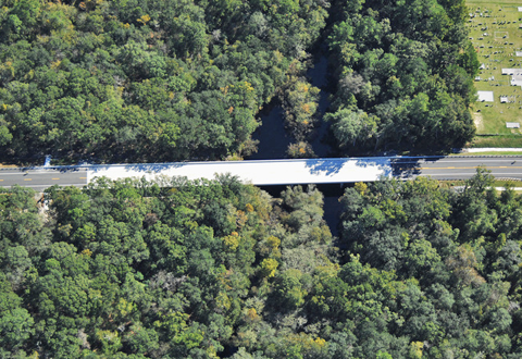 CR 245 over Olustee Creek Bridge Replacement
