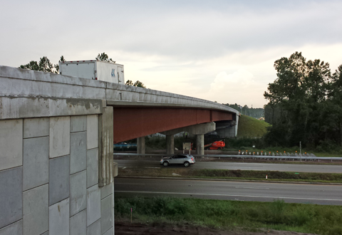 CR 210 over US 1 and FEC Railroad